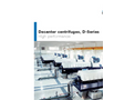 Andritz - Model D-Series - Decanter Centrifuges for Efficient Sludge Thickening and Dewatering - Brochure