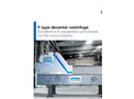 Andritz - Model F-Type - Decanter Centrifuges - Brochure