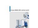 Krauss-Maffei - Model VZU - Vertical Basket Centrifuge - Brochure