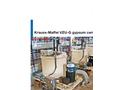 Krauss-Maffei - Model VZU-G - Gypsum Vertical Peeler Centrifuge - Brochure