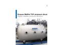 Krauss-Maffei - Model TDF - Pressure Drum Filter - Brochure