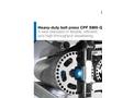 Model CPF SMX-Q - Heavy Duty Belt Press - Brochure