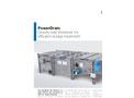 PowerDrain - Gravity Belt Thickener for Efficient Sludge Treatment - Brochure