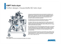 ANDRITZ KMPT Vacuum Contact Dryers - Datasheet