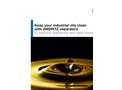 Separators for Industrial Oils - Brochure