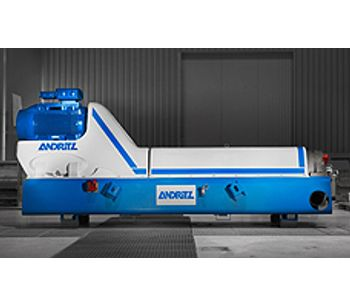 Andritz - Model D-Series - Decanter Centrifuges for Efficient Sludge Thickening and Dewatering