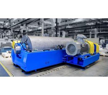 ANDRITZ Aqua-Screen - Model ACZ - Plastic Recycling Decanter Centrifuge