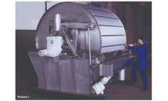 Andritz - Model VDrF - Rotary Vacuum Drum Filter