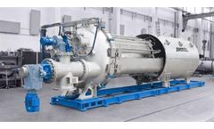 Krauss-Maffei - Model TDF - Pressure Drum Filter