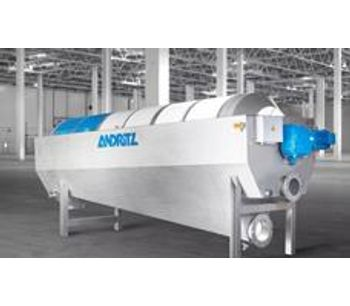 Andritz PowerDrum - Model PDR - Drum Thickeners for Sludge Thickening