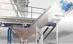 SpiroSand - Screen for Removal of Sand and Heavy Sediments from Sewage Effluent