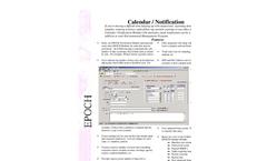 EPOCH Calendar / Notification Brochure