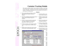 EPOCH Container Tracking Module Brochure