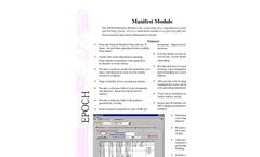 EPOCH Manifest Module Brochure