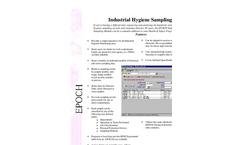 EPOCH Industrial Hygiene Sampling Brochure