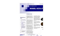 Model GCO1-P Gas Chamber Orifice Data Sheet