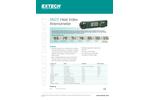 Extech - Model AN25 - Heat Index Anemometer - Brochure