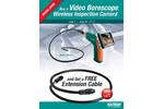 Extech - Model BR200 - Video Borescope/Wireless Inspection Camera - Datasheet