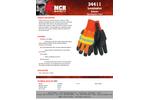 MCR - Model 34411LMG - Luminator Pigskin Waterproof Drivers, L - 12 Pair/Case - Datasheet