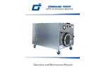 OmniAire - Model 1000V - HEPA Air Filtration Machine - Manual