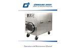 OmniAire - Model 2000V - HEPA Air Filtration Machine - Manual