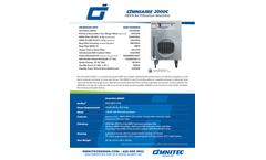 OmniAire - Model 2000C - HEPA Air Filtration Machine - Specsheet