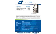 Omnitec Design PEROx - Model PG - Air Purifier - Dual Generator - Datasheet