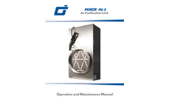 PEROx - Model PG-3 - Air Purifier - Manual