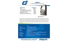 PEROx - Model PG-3 - Air Purifier - SpecSheet