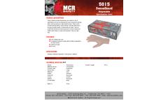 MCR SensaGuard - Model 5015 - Powder-Free Vinyl Disposable Gloves - Brochure