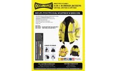 OccuNomix - Premium Four-Way Original Bomber Jacket - Brochure
