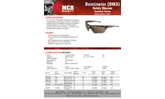 MCR Dominator™ - Model DM13H10BPF - Magnifier Safety Glasses - Brochure