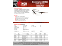 MCR Dominator - Model DM13H25PF - Magnifier, Tortoise Shell Color Frame, Clear MAX6™ lens, 2.5 Diopter