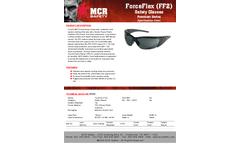 MCR ForceFlex - Model FF212 - Opague Black Frame, Gray Lens - Brochure