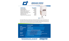 OmniAire - Model 1200PAC - Portable Air Cleaner - SpecSheet