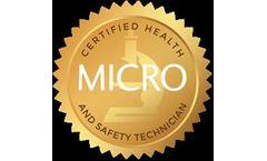 Micro Health & Safety Technician Course