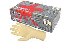 MCR SensaGuard™ - Model 5055 - Disposable Latex Gloves, Powder Free, 5 mil, S
