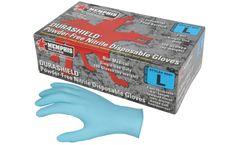 MCR Durashield - Model 6001SMG - Disposable Nitrile Gloves - S