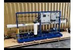 ADVANCEES - DESALINATION - Model: SSWRO-0014 Seawater Reverse Osmosis (RO)  System 14,000 GPD - Video