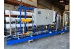ADVANCEES - DESALINATION - Model: MSWRO-0050 Seawater Reverse Osmosis System - Video