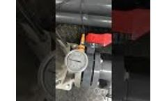 ADVANCEES - BRACKISH WATER - SERIE: LBWRO - MODEL: LBWRO-0216C, 216,000 GPD System In Operation - Video