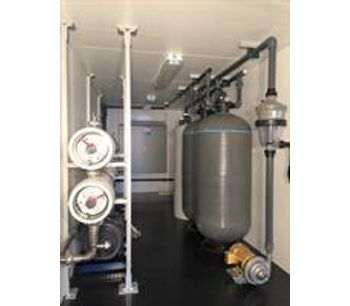 ADVANCEES - 30,000 US GPD (SWRO) Seawater Desalination System ON SALE - Ready for Delivery