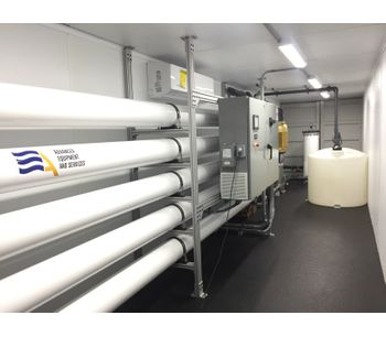 ADVANCEES - Brackish Water – containerized brackish water reverse osmosis system 216K GPD