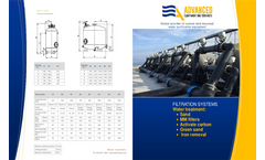 ADVANCEES - Multimedia Filtration Systems - Brochure
