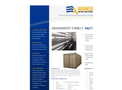 ADVANCEES - SWRO Large - Desalination Containerized 400000 GPD -Turbo Datasheet