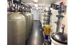 ADVANCEES - Solar Brackish Water Reverse Osmosis System 100,000 Capacity - Video
