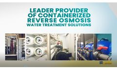 ADVANCEES - Leader on Containerized Water Treatment solutions