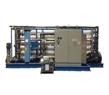 ADVANCEES - DESALINATION - Model LSWRO-0288C - Seawater Containerized System. Reverse Osmosis and Water Treatment