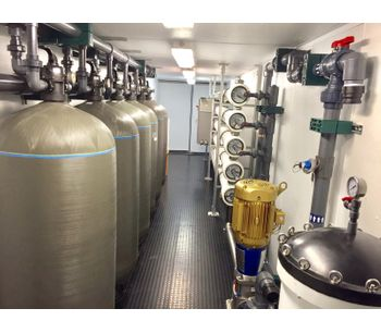 Containerized Seawater Desalination Systems for the Industrial, Power and Municipal Markets. Reverse Osmosis-3