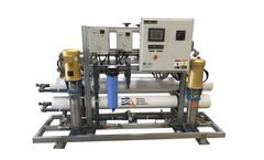 ADVANCEES - Model BWHP-25 / Brackish water - High Purity Water Treatment System 25,000 GPD Double Pass. Reverse Osmosis